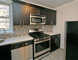Apartment for rent with SS kitchen