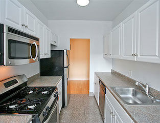 apt rental with shef's kitchen